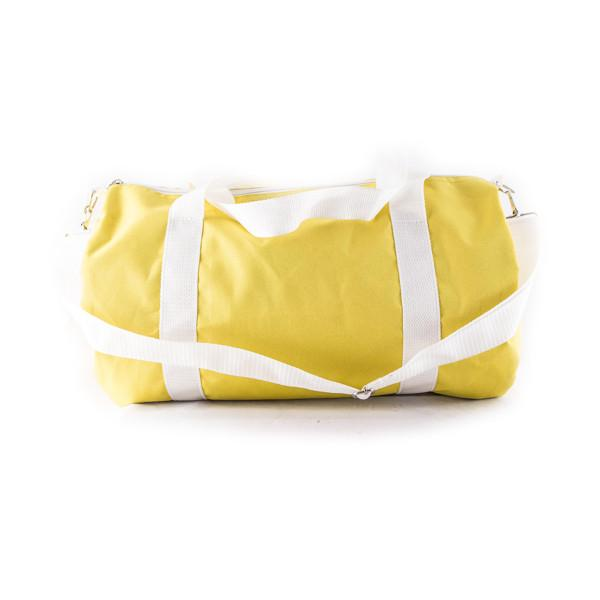 Yellow duffle bag - Punk Monsieur