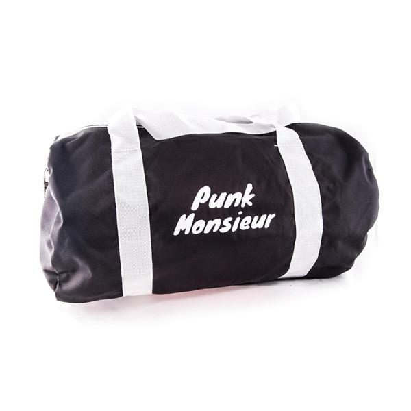 Black duffle bag - Punk Monsieur
