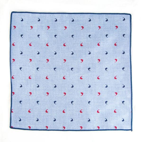 Light Blue Pocket Square - Punk Monsieur