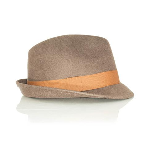 Brown Fedora hat - Punk Monsieur