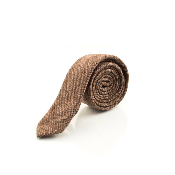 Brown Cashmere neck tie - Punk Monsieur