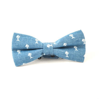 Light blue bow ties - Punk Monsieur
