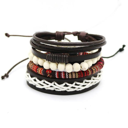 Punk casual men's jewelry bracelet
