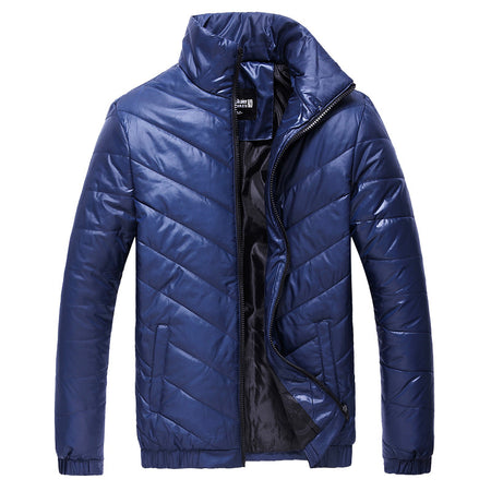 Blue Winter Padded Jacket