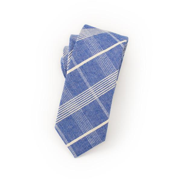 Blue Striped Ties