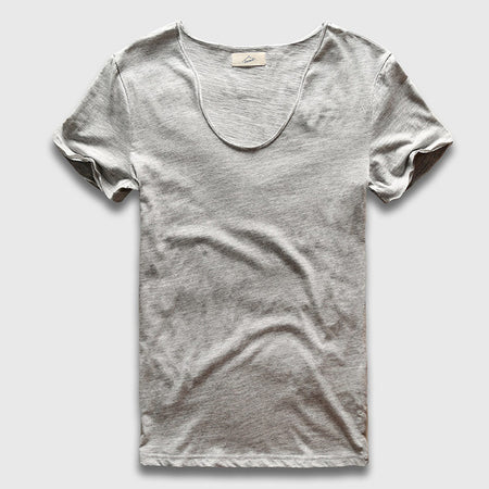 V neck cotton T-Shirt
