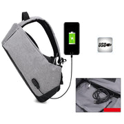 Antitheft External USB Charging Backpack