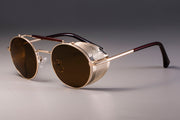 Gold Punk Sunglasses
