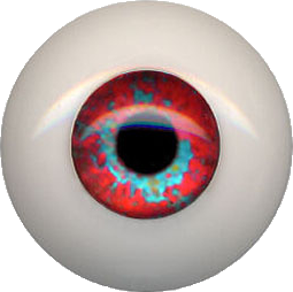 "Eyeco Special Order Ultra ""Soft Glass""  Fantasy Doll Eyes Size 17mm to 23mm"