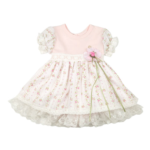 """Emmie Grace"" Take-Me-Home Short Dress by Haute Baby 0/3 mths"