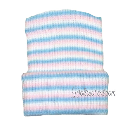 Premium Knit Hospital Striped Hat - New Lower Price