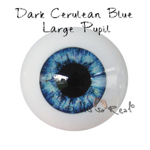 Real Life 24mm Doll Eyes - Dolls so Real Inc - 2
