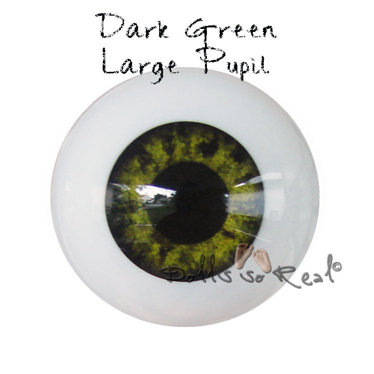 Real Life 20mm Doll Eyes - Dolls so Real Inc - 5