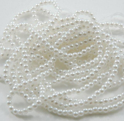 "Pearl Strand 2.5mm or 3mm 60"" - Dolls so Real Inc - 1"