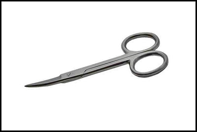 "Curve Tipped 3.5"" Sewing/Craft/Nail Scissors"