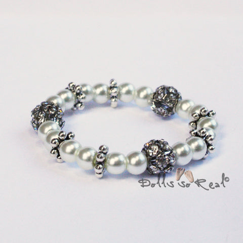 NEW! Bunny Hops Royal Collection Doll Bracelets
