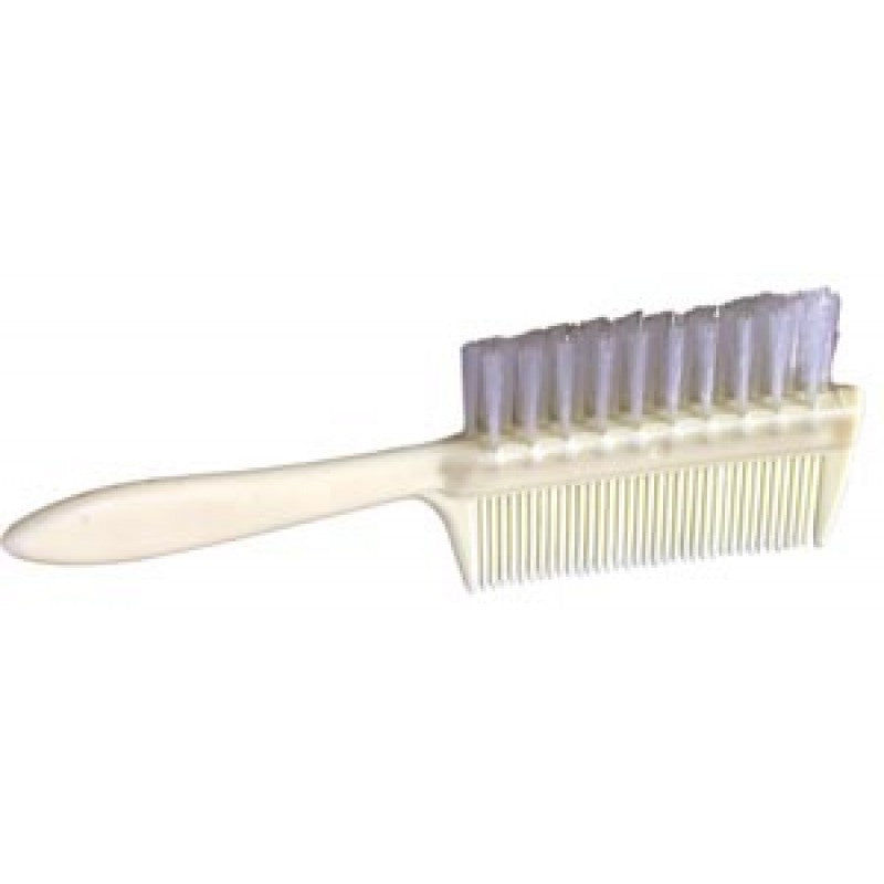 One Piece Double Sided Infant Comb/Brush