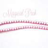 "4mm Magical Miracle Pink Glass Pearl Strand 12"" (30.48cm) Long"