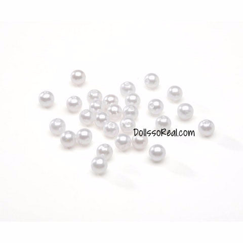 Loose 6mm Beads & Pearls (Cultura) - 120pc