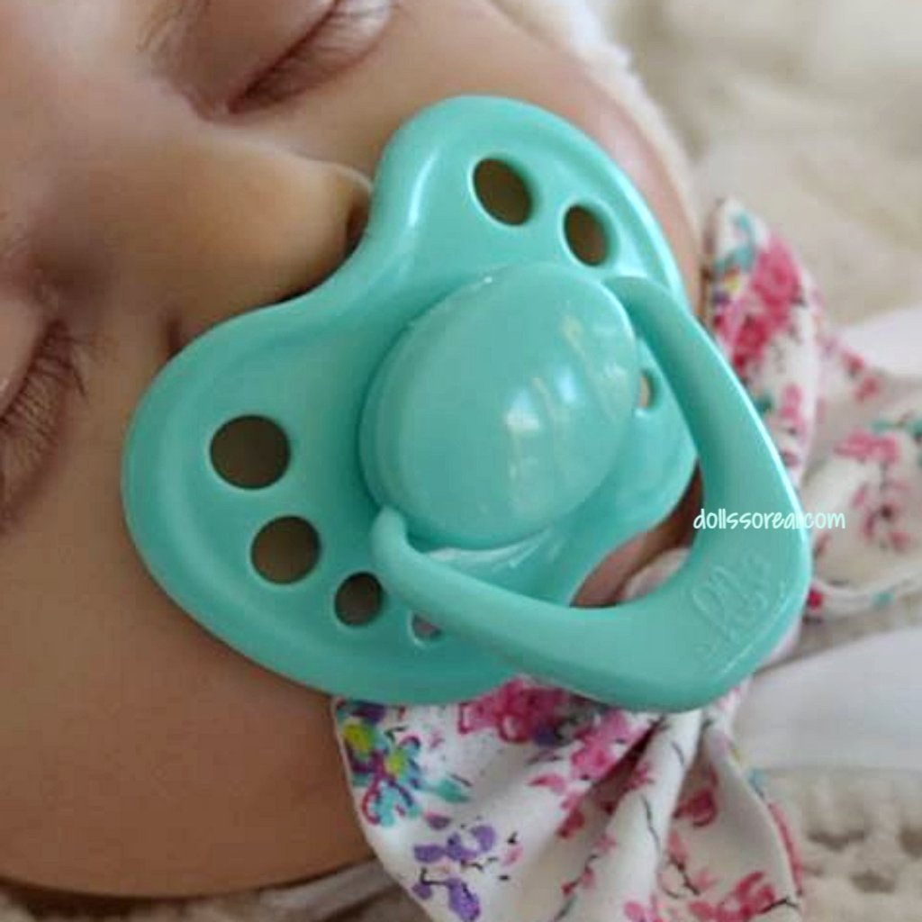 HoneyBug Sweetheart Reborn Doll Pacifier - New Sheer Colors