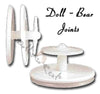 Plastic Doll & Bear Joints - All Sizes - Dolls so Real Inc - 2
