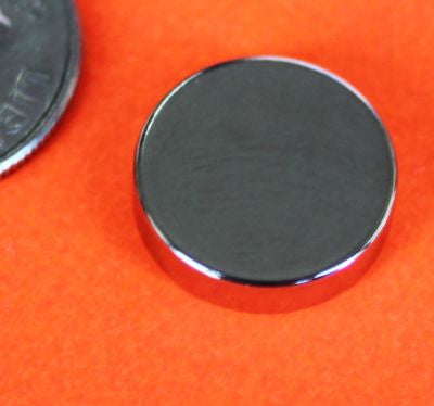 "Super Strong 1/2"" x1/8"" Neo Rare Earth Magnets - 10 pk"
