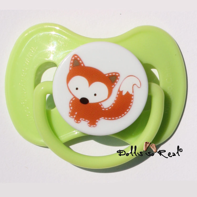 Baby Animal Reborn Doll Magnetic Pacifiers