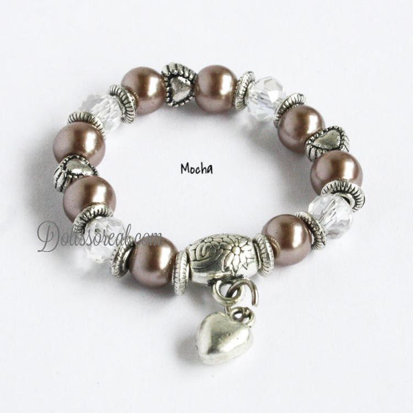 Pearly Bug Quot 18 20 Quot Doll Bracelets Dolls So Real Inc