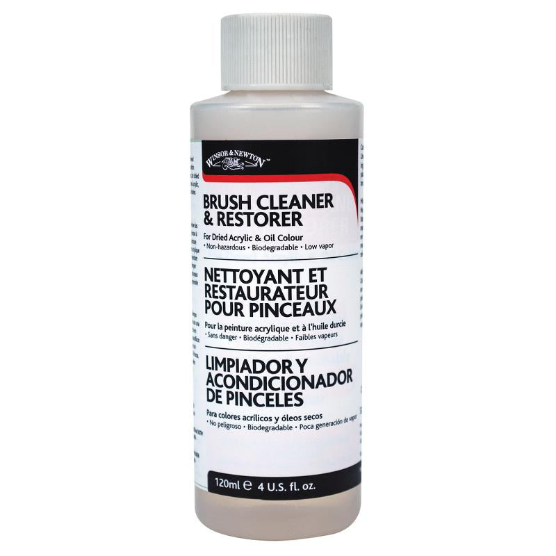 Winsor & Newton Brush Cleaner/Restorer 4oz