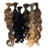 "New Wavy Human Hair 25g - 12"" length"