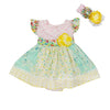 Spring-a-Ling Infant Baby Girls Dress by Haute Baby - 0-3 Months