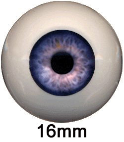 Eyeco 16mm Doll Eyes - Dolls so Real Inc - 1