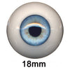 Eyeco 18mm Doll Eyes - Dolls so Real Inc - 1