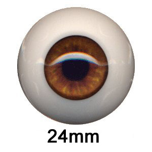 Eyeco 24mm Doll Eyes - Dolls so Real Inc - 1