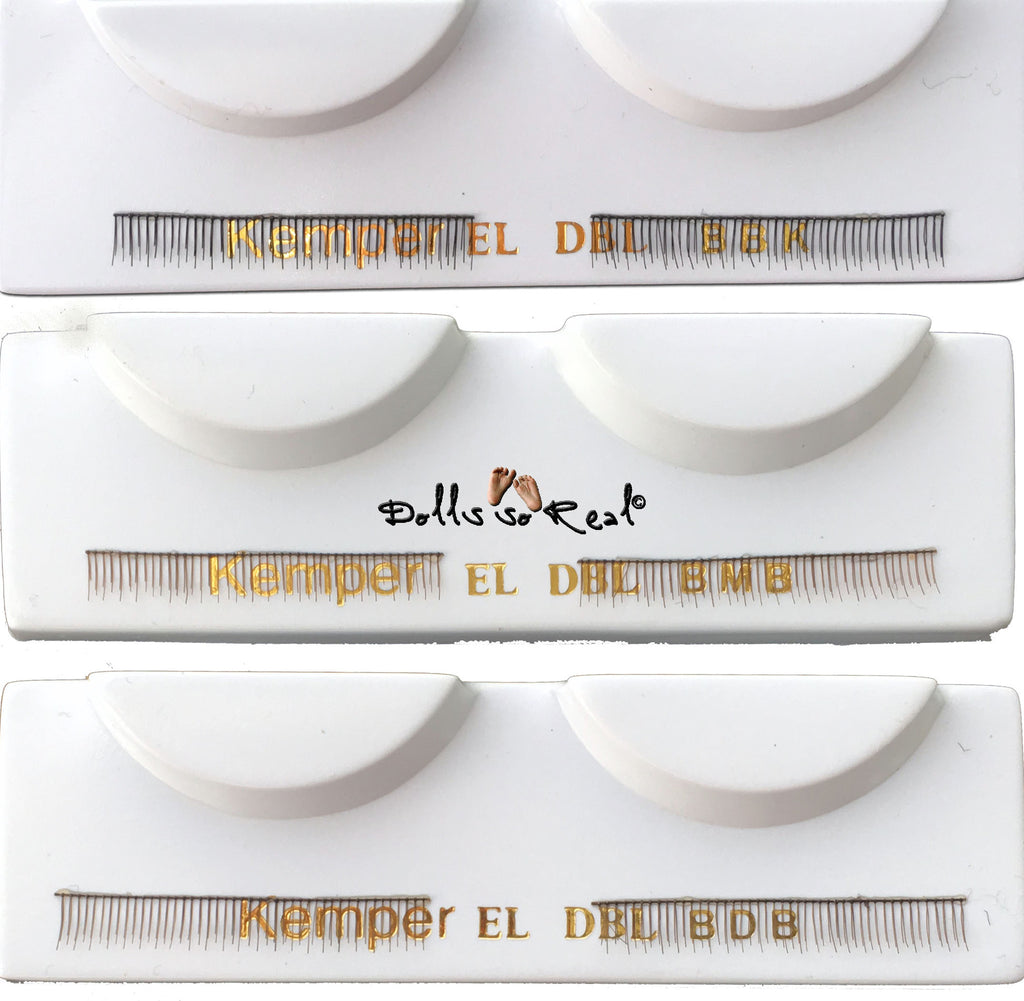 32mm Lower/Bottom Eyelash Set - Kemper