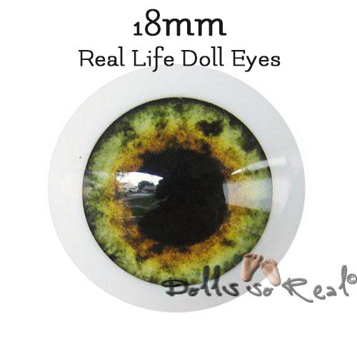 Dolls so Real Life 18mm Doll Eyes