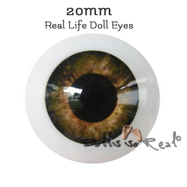 Dolls so Real Life 20mm Doll Eyes