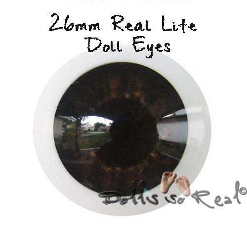 Dolls so Real Life 26mm Doll Eyes - New Colors