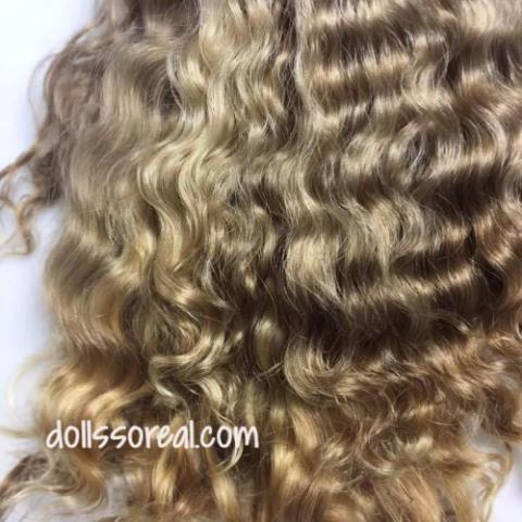 First Clip Kid Curly/Wavy Mohair 1/2 ounce - Super Soft and Fine