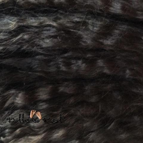 New Long, Soft, Treasured Tendrils Wavy Mohair 1/2 oz - Sells out quickly! - Dolls so Real Inc - 10