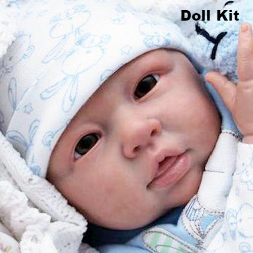 Julchen Open Eye Doll Kit by Linde Scherer