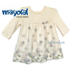 Newborn Baby Girl Layered Floral Dress 0-2mths