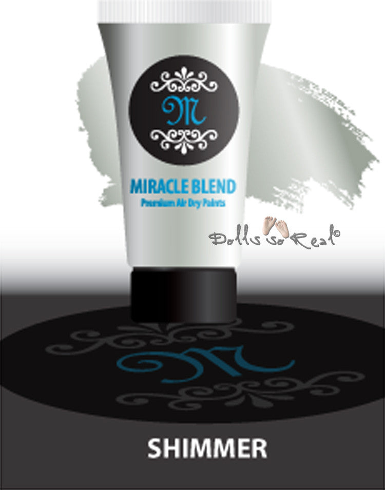 Fantasy Shimmer - Miracle Blend Premium Air Dry Paint - 1oz Tube
