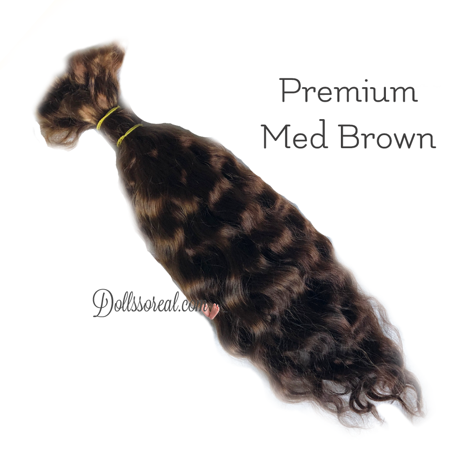 New! Premium Treasured Tendrils Wavy Mohair 1/2 oz