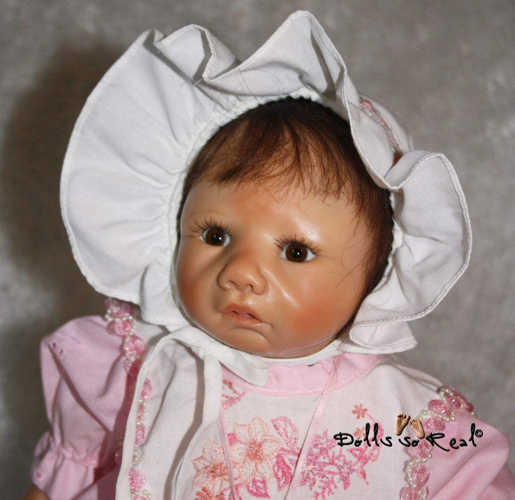 One-of-a-Kind Resin Doll by Sybille Sauer