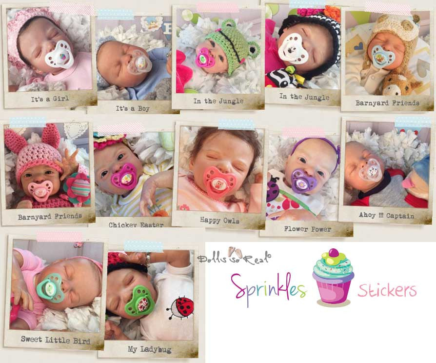 "Honeybug ""Sprinkles"" for Sweetheart Paci - Dolls so Real Inc - 2"