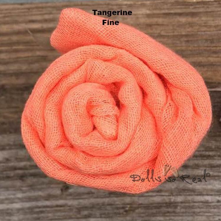 Fine Gauze Wraps for Baby or Doll - New Photos