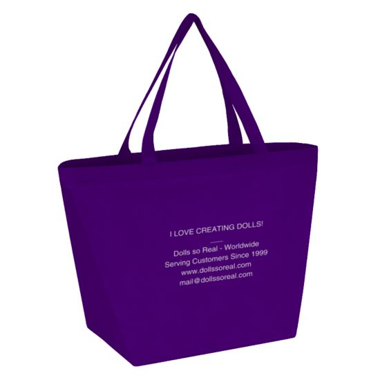 Large Lightweight Recyclable Tote - Free w/Purchase over $100.00*