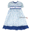Ruffled Springtime Little Girl's Dress by Will'Beth - Size 2T