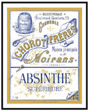Absinthe Poster - Old Label #1952